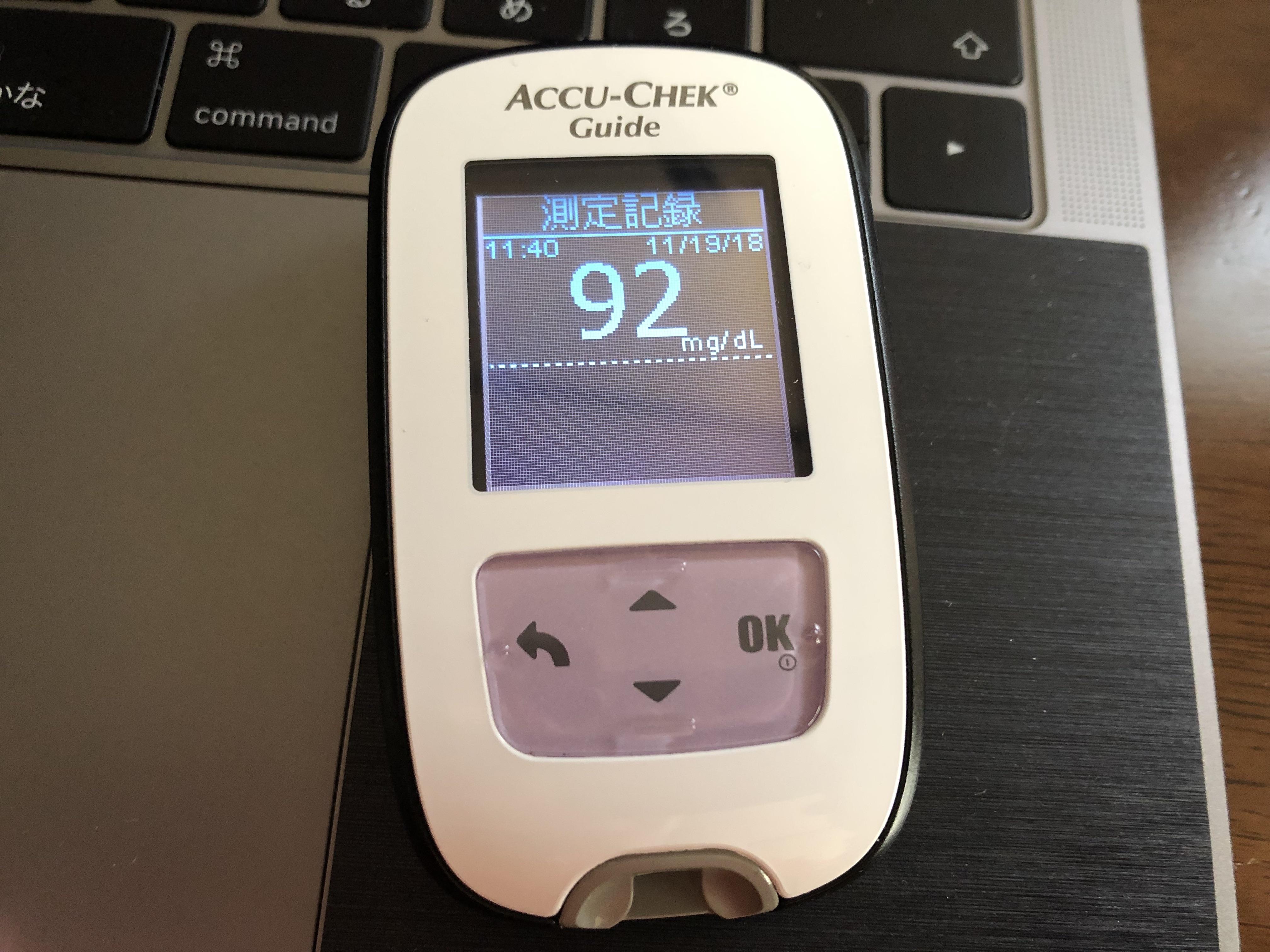 血糖値測定器