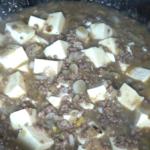 糖尿病でもOK!さっぱり酢の塩麻婆豆腐