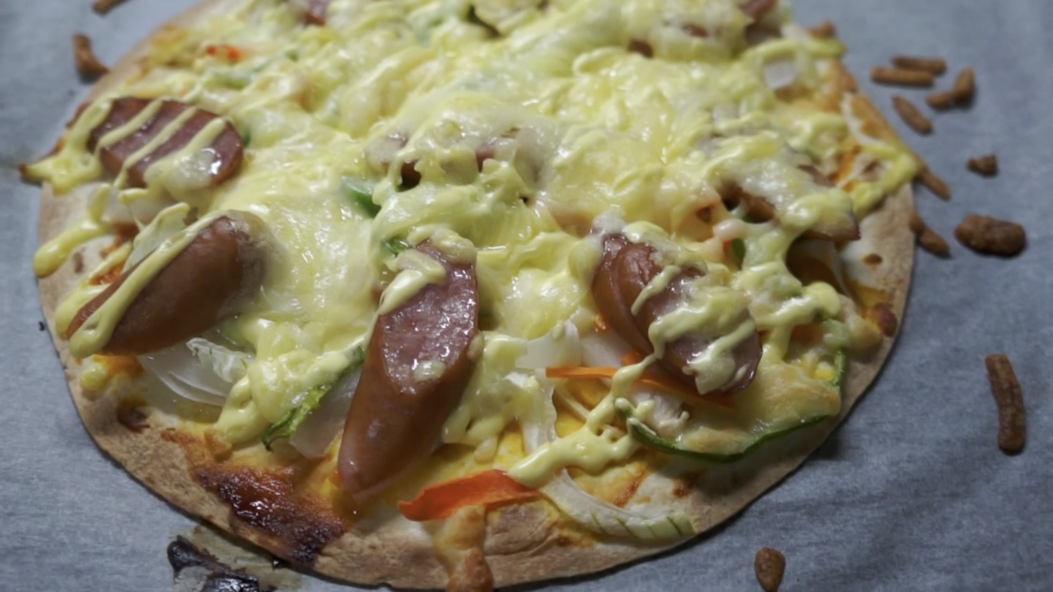 トルティーヤのピッツァ