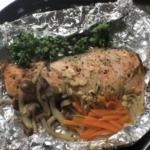 1型糖尿病患者が作る低糖質料理。たっぷり野菜と銀鮭のホイル焼き