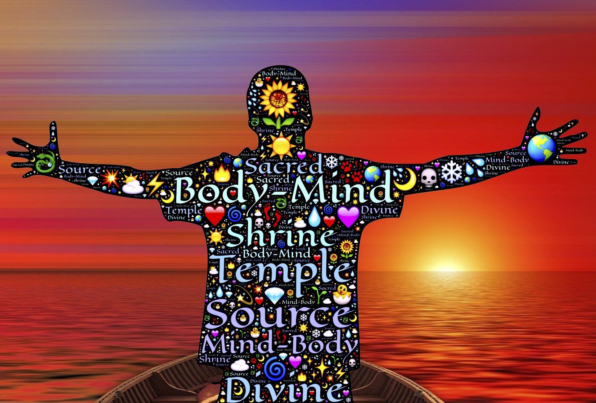 心と体の画像