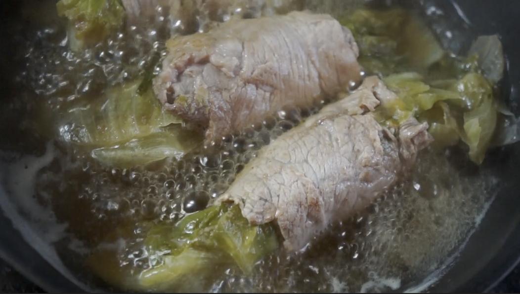ロカボ飯 豚コマレタスポン酢の材料