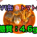 【糖質制限レシピ】お手軽イタリアン「サバ缶のガーリックトマト煮込み」