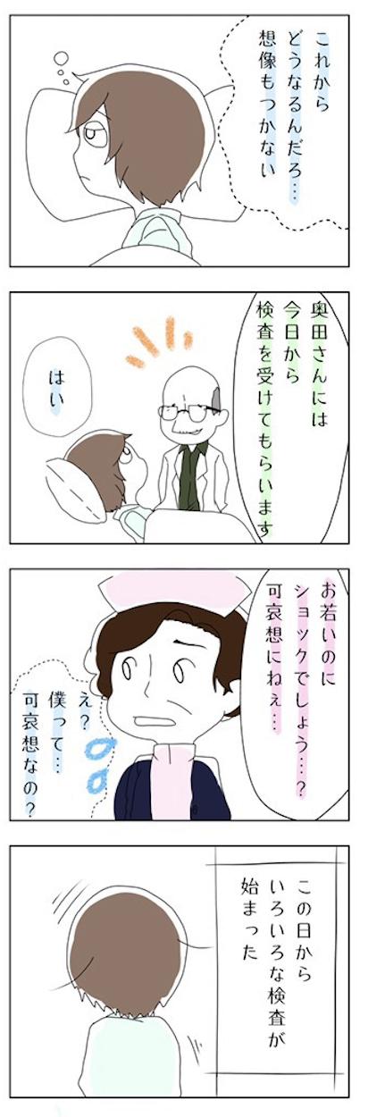 1型糖尿病 体験談 4コマ漫画