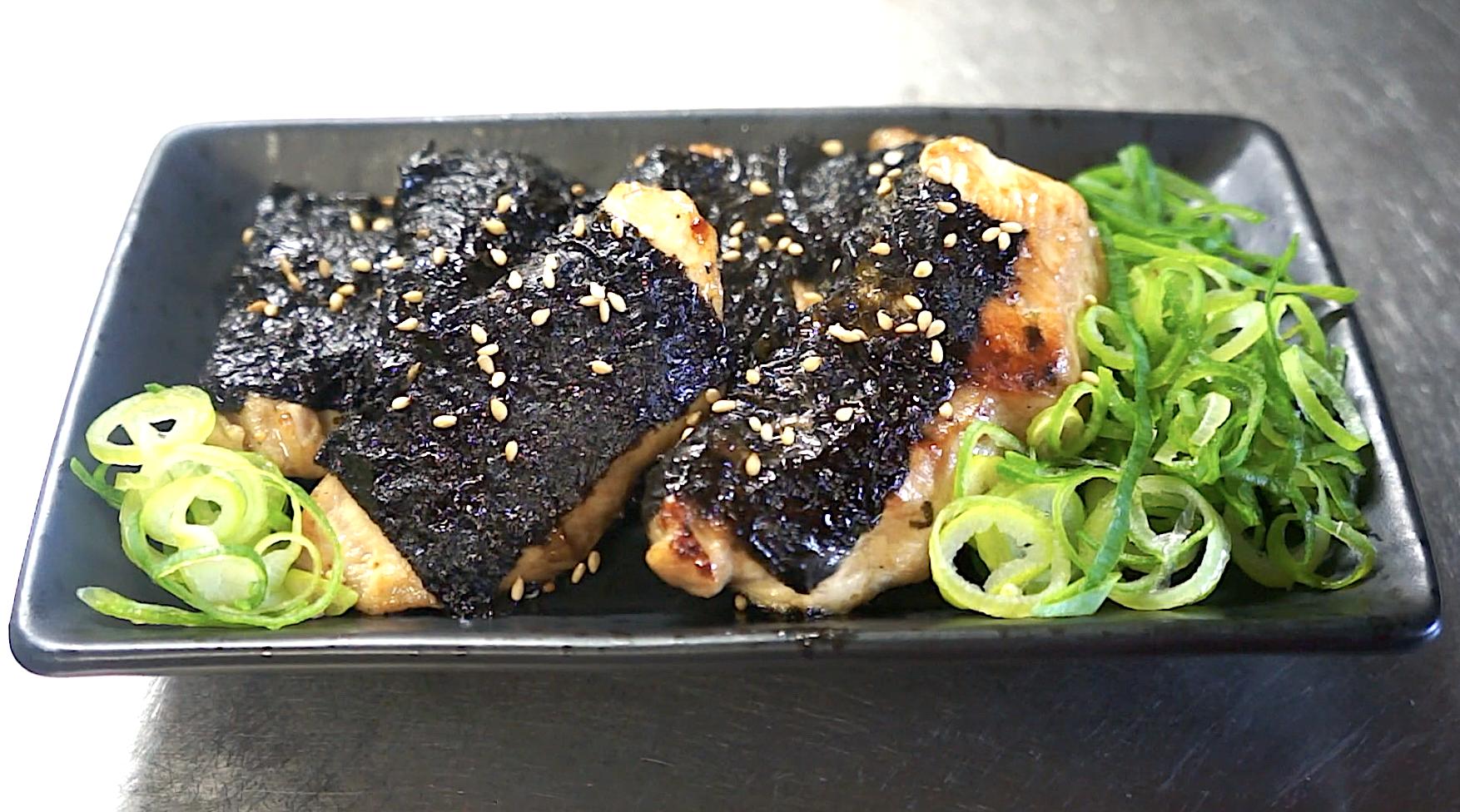 低糖質 低脂質 鶏胸肉 海苔巻き