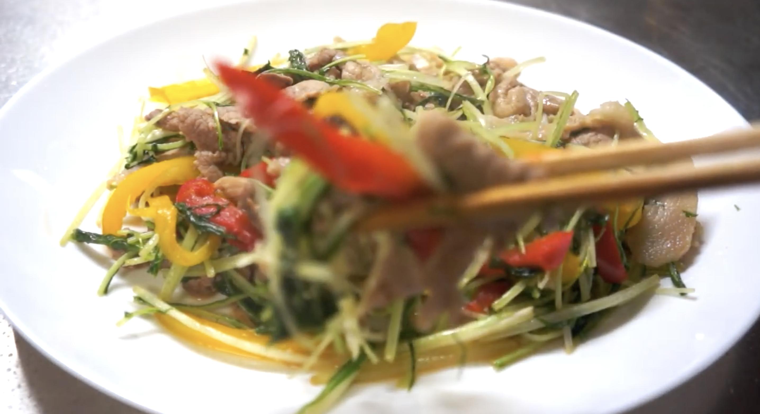 水菜 豚肉 柚子胡椒 レシピ