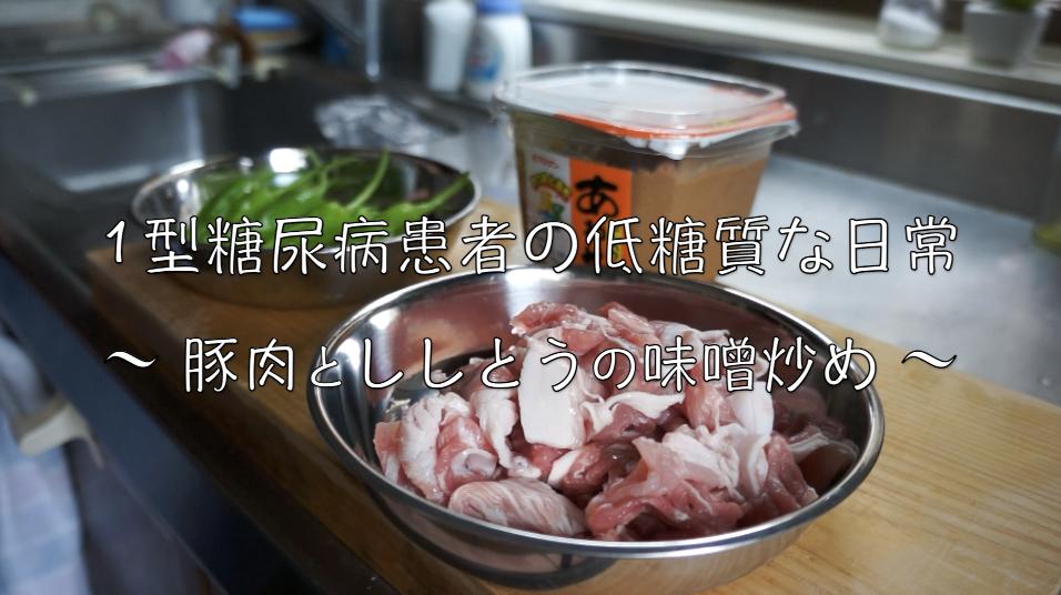 豚肉 ししとう レシピ 旬 ダイエット 低糖質