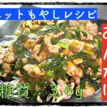 【ダイエットレシピ】サイリウムでとろみ付け!「もやしのニラ豚あんかけ」【動画(有)】