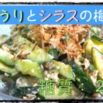 【低糖質レシピ】さっぱり無限に!「きゅうりとシラスの梅和え」【動画(有)】