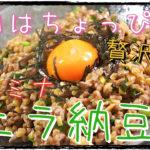 【低糖質レシピ】お酒のおつまみにも!「スタミナニラ納豆」【動画(有)】