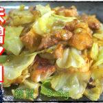 【鶏肉料理】安定の旨さ!「鶏もも肉とキャベツ味噌マヨガーリック」の作り方【動画(有)】
