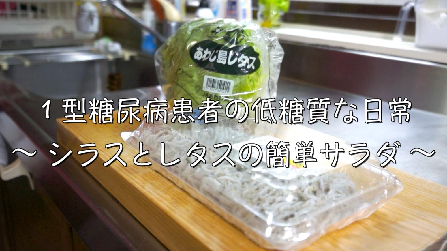 しらす レタス サラダ 糖質制限