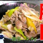 【糖質制限レシピ】材料2つで超簡単!「豚肉と白ネギの旨塩レモン炒め」【動画(有)】