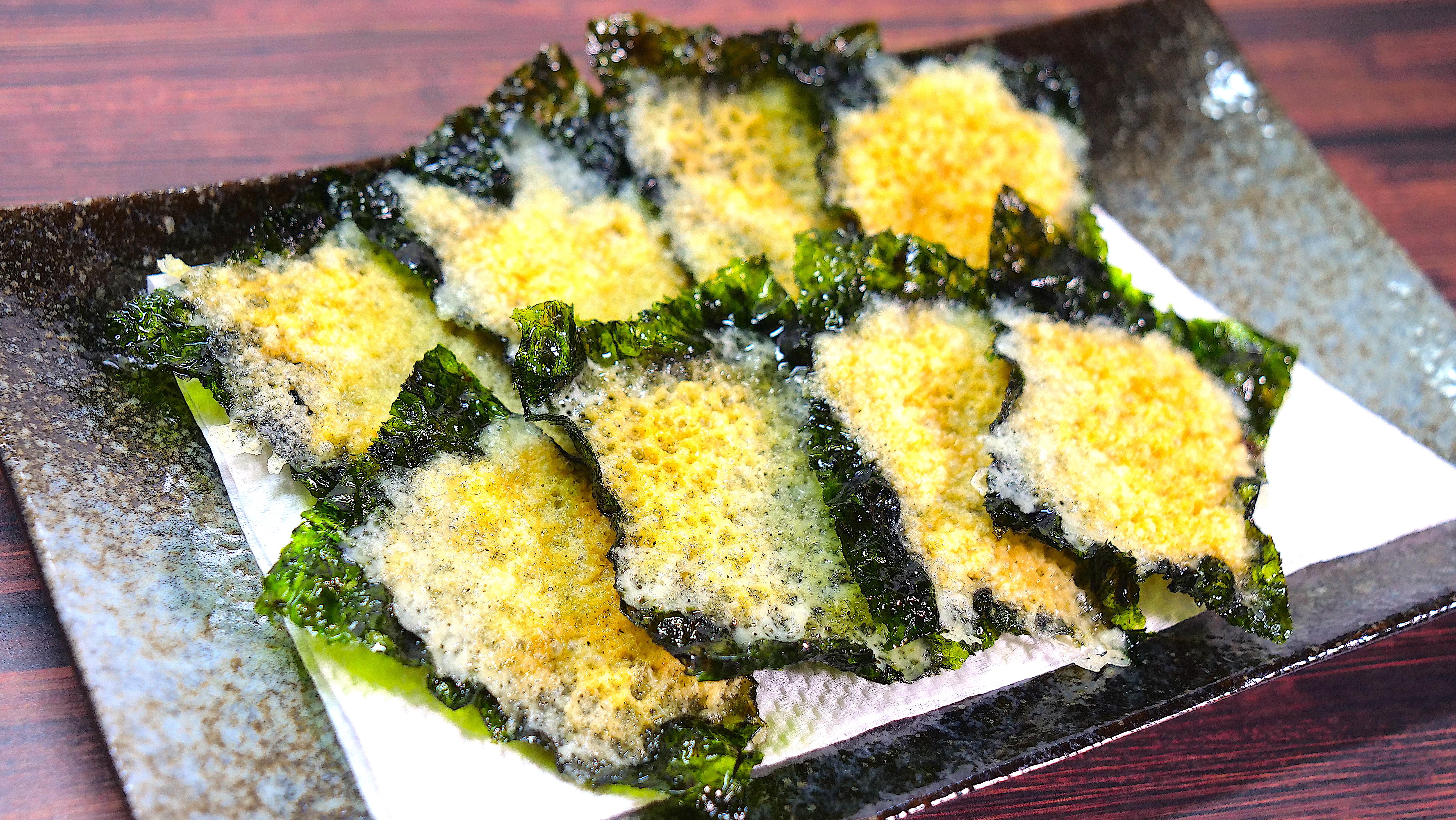韓国海苔 チーズ チップス レシピ