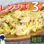 【ダイエットレシピ】ゴマたっぷりで!「サバ缶とキャベツの胡麻マヨ和え」【動画(有)】