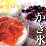 【ステビアヘルスで簡単2品】「手作りシロップのかき氷」&「手羽中の甘辛焼き」の作り方【動画(有)】