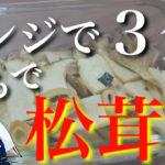 【衝撃のウマさ】レンジでたった3分♬「エリンギの松茸風」の作り方【低糖質おつまみ】