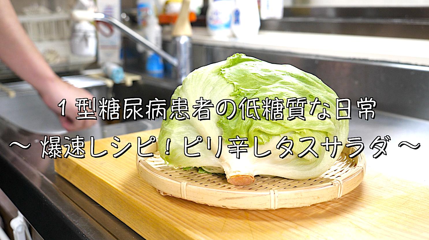 レタス 韓国風 チョレギ サラダ レシピ