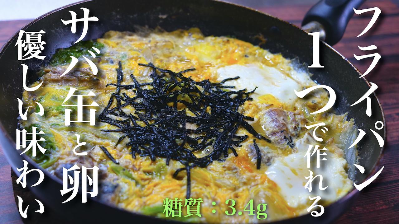 鯖缶 白菜 レシピ 低糖質 ダイエット