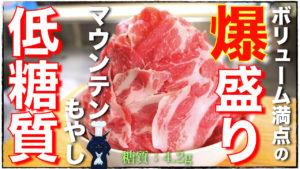 もやし 豚肉 レンチン レシピ 低糖質