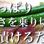 【ジメジメした暑さを、冷たい1品で乗り切ろう☆】箸休めにもってこい!「きゅうりの茗荷漬け」の作り方