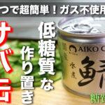 【ガス不使用で作れる楽チンレシピ☆】冷やして美味しい!「サバ缶ときゅうりの胡麻マヨサラダ」の作り方【低糖質レシピ】