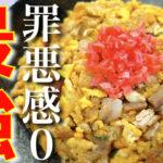 【炒飯が食べたくなったらコレがオススメ☆】糖質OFFなのに腹持ちバッチリ!「オートミール炒飯」の作り方