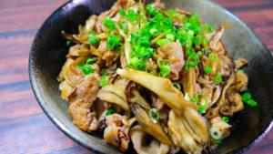 舞茸 豚肉 塩昆布 レシピ
